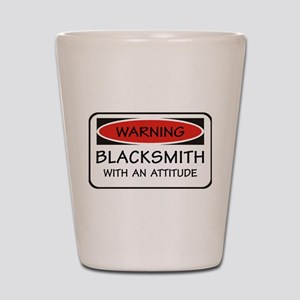 Attitude Blacksmith Shot Glass
