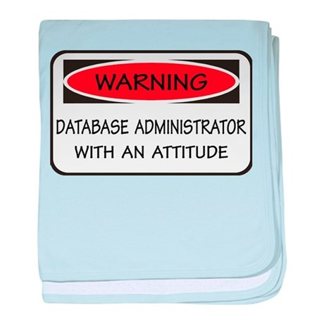 Database Administrator baby blanket