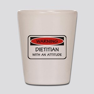 Attitude Dietitian Shot Glass