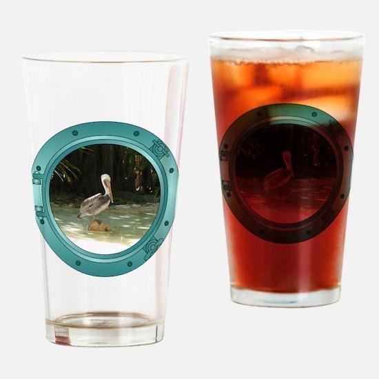 Pelican Porthole Pint Glass