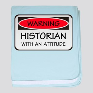 Attitude Historian baby blanket