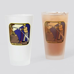 Miner Pint Glass