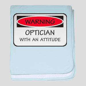 Attitude Optician baby blanket