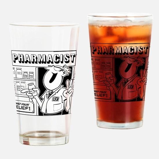 Retro Pharmacist Pint Glass