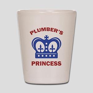 Plumber's Princess Shot Glass