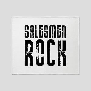 Salesmen Rock Throw Blanket