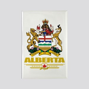 Alberta Coat of Arms Rectangle Magnet