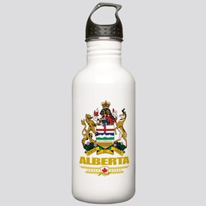 Alberta Coat of Arms Stainless Water Bottle 1.0L
