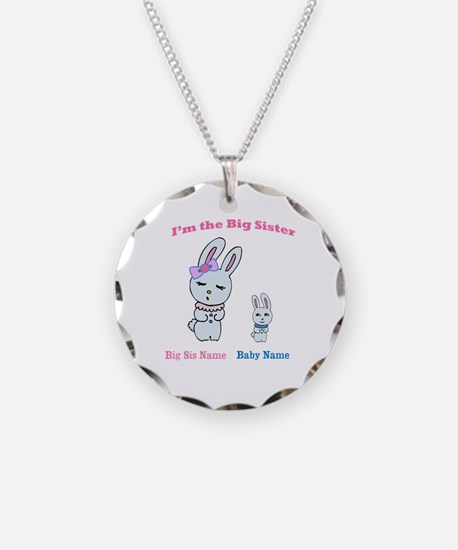 Big Sister Little Brother Necklace