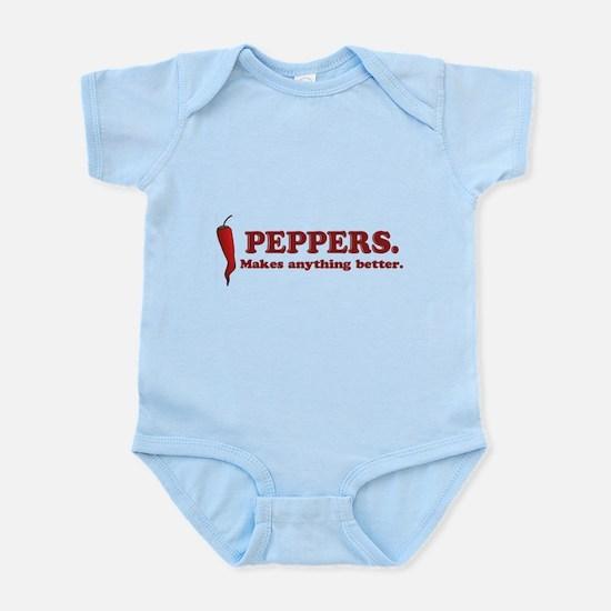 Pepper Lovers Infant Bodysuit