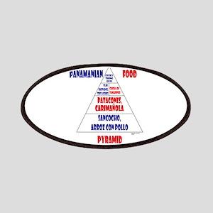 Panamanian Food Pyramid Patches