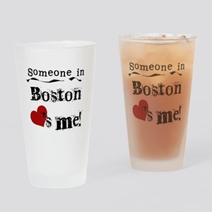 Boston Loves Me Pint Glass