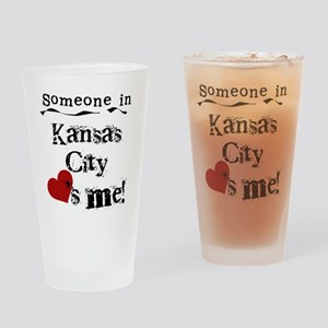 Kansas City Loves Me Pint Glass