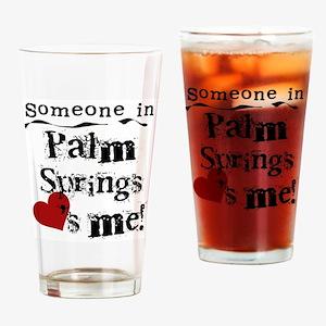 Palm Springs Loves Me Pint Glass