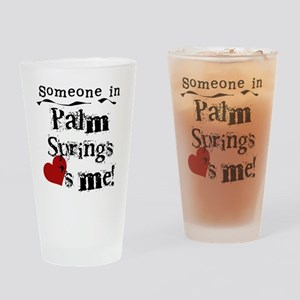 Palm Springs Loves Me Pint Glass