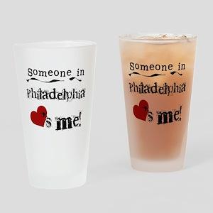 Philadelphia Loves Me Pint Glass