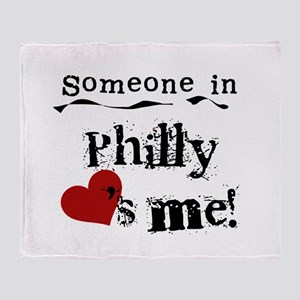 Philly Loves Me Throw Blanket