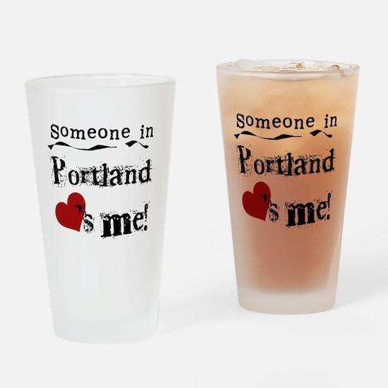 Portland Loves Me Pint Glass