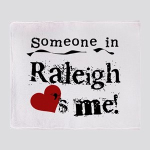 Raleigh Loves Me Throw Blanket