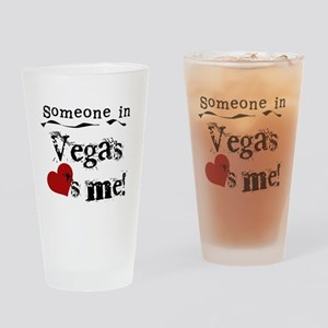 Vegas Loves Me Pint Glass