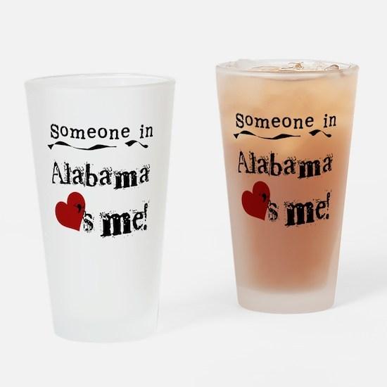 Someone in Alabama Pint Glass
