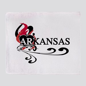 Heart Kansas Throw Blanket