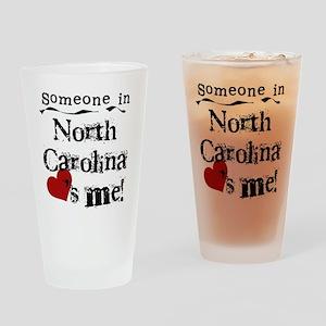 Someone in North Carolina Pint Glass
