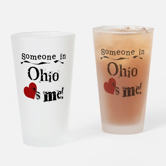 Someone in Ohio Pint Glass