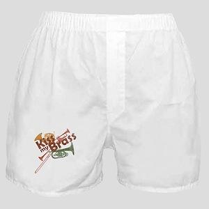 Kiss My Brass Boxer Shorts