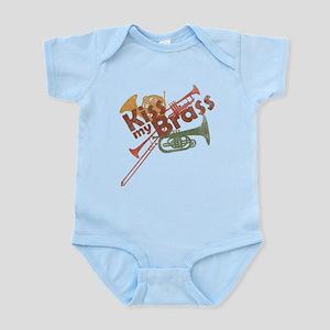 Kiss My Brass Infant Bodysuit