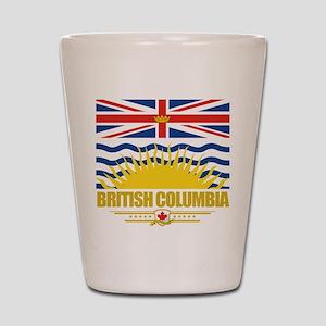 British Columbia Pride Shot Glass