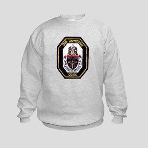 USS Antietam CG 54 Kids Sweatshirt