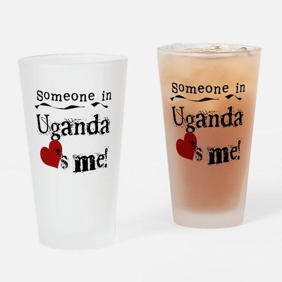 Uganda Loves Me Pint Glass