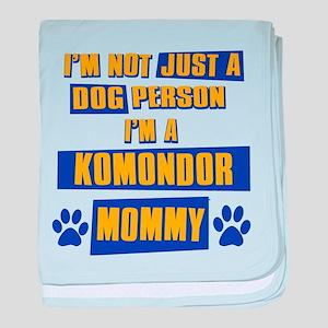 Komondor Mommy baby blanket