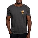 African Spirit in Ochre Dark T-Shirt