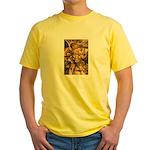 African Spirit in Ochre Yellow T-Shirt