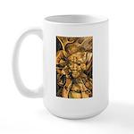 African Spirit in Ochre Large Mug