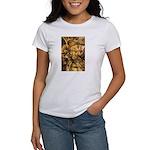 African Spirit in Ochre Women's T-Shirt