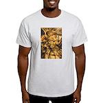 African Spirit in Ochre Light T-Shirt
