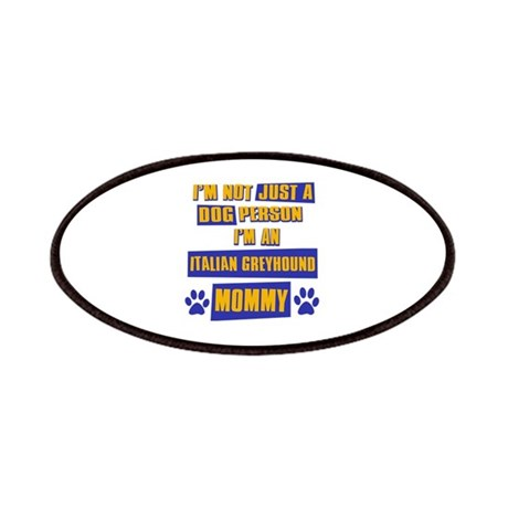 Italian Greyhound Mommy Patches