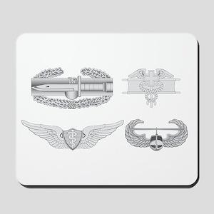 CAB EFMB Flight Surgeon Air Assault Mousepad