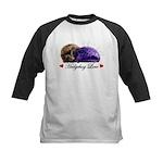 Hedgehog Love Kids Baseball Jersey