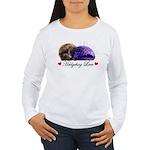 Hedgehog Love Women's Long Sleeve T-Shirt