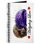 Hedgehog Love Journal