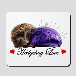 Hedgehog Love Mousepad