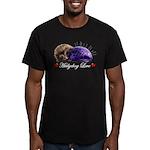 Hedgehog Love Men's Fitted T-Shirt (dark)