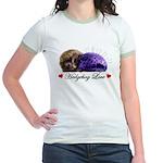 Hedgehog Love Jr. Ringer T-Shirt