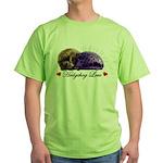Hedgehog Love Green T-Shirt