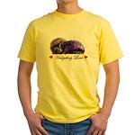 Hedgehog Love Yellow T-Shirt