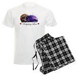 Hedgehog Love Men's Light Pajamas